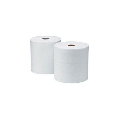 Kimberly-Clark X 800' White SCOTT® 1000 Hard Roll Towels (12 Rolls Per Case)