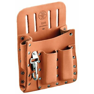 Klein Tools 5-Pocket Tool Pouches - elect pouch