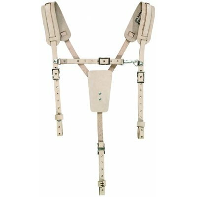 Klein Tools Leather Suspenders - safety belt suspender
