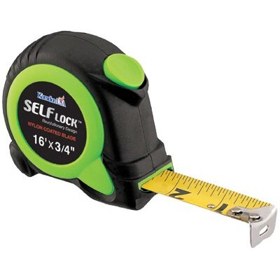 Komelon USA Self Lock™ Measuring Tapes - 16' self lock  self-locking tape measure