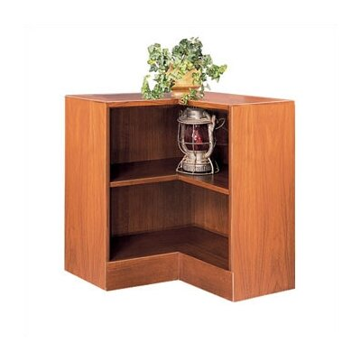 "Hale Bookcases 1100 NY Series 30"" H Two Shelf Inside Corner Bookcase"