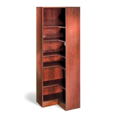 "Hale Bookcases 1100 NY Series 84"" H Seven Shelf Inside Corner Bookcase"