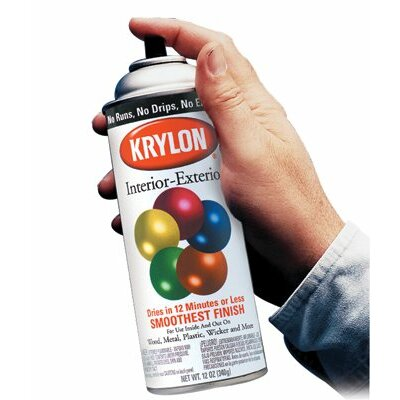 Krylon Krylon - Interior/Exterior Industrial Maintenance Paints Khaki Five Ball Interior/Exterior Spray Paint: 425-K02504A00 - khaki five ball interior/exterior spray paint