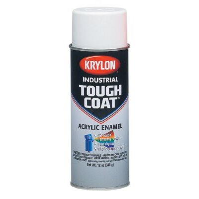 Krylon Tough Coat® Alkyd Enamels Flat White Acrylic