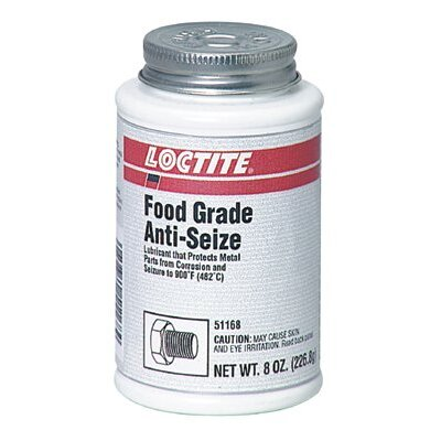 Loctite Corporation Food Grade Anti-Seize - food grade anti-seize metal-free 8 oz  brush top