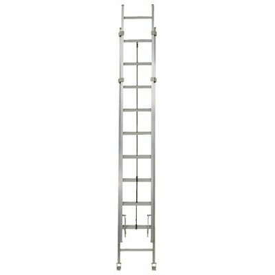 Louisville Ladder AE1200HD Series Rhino 375™ Industrial Aluminum Extension Ladders - 40' aluminum extension ladder d-rung extr