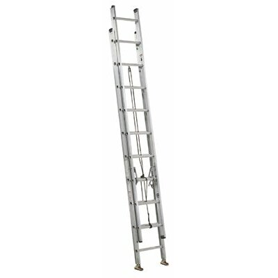 Louisville Ladder AE3000 Series Commander Aluminum Extension Ladders - 16' aluminum hd extension ladder d-rung
