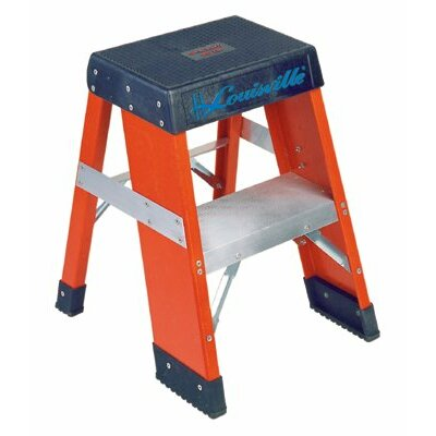 Louisville Ladder FY8000 Series Industrial Fiberglass Step Stands - 2' h.d. fiberglass multipurpose step stand