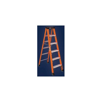 Louisville Ladder Type IAA Non-Conductive Fiberglass Stepladder, 375 Pound Work Load Capacity