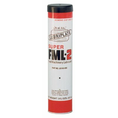 Lubriplate FML Series Multi-Purpose Food Grade Grease - 14-1/2oz cartridges super fml2 #14598
