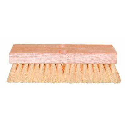 "Magnolia Brush Deck Scrub Brushes - 12"" white tampico deck brush req.5t-hdl"