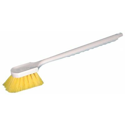 Magnolia Brush Utility Brushes - large handle cream plastic fender brus