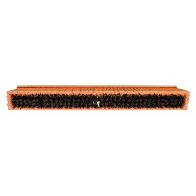 "Magnolia Brush No. 35 Line Floor Brushes - 36"" brown plastic floorbrush w/m60 340a1"
