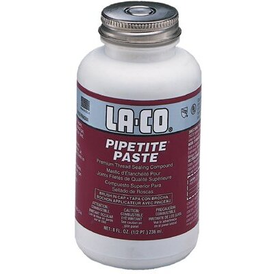 Markal Pipetite® Paste Pipe Thread Compound - 1/2pt. bic pipetite paste