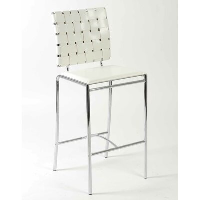 Eurostyle Carlsen Counter Chair in White