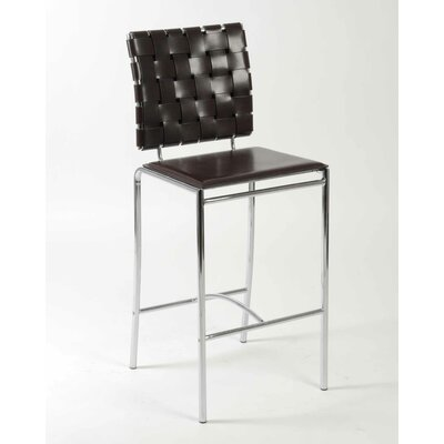 Eurostyle Carlsen Counter Chair in Brown