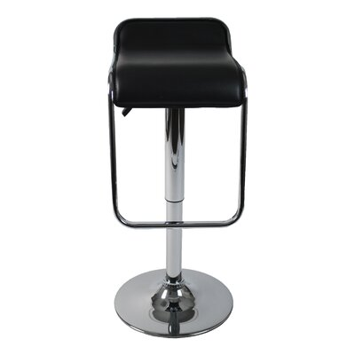 Eurostyle Furgus Adjustable Bar Stool in Black