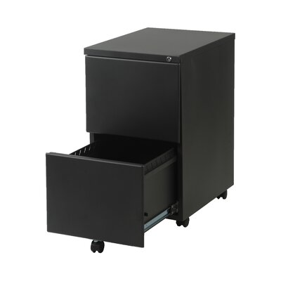 Eurostyle Gordon-2F Metal File Cabinet