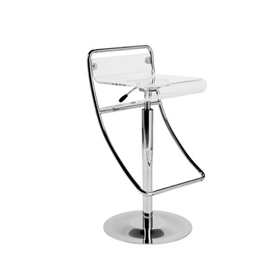 "Eurostyle Angelita 31"" Adjustable Swivel Bar Stool"