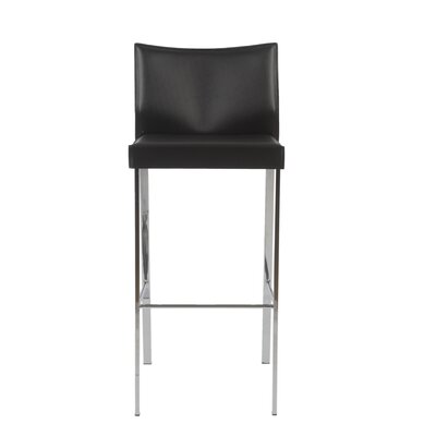 Riley-B Leather Barstool