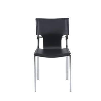 Eurostyle Vinnie Leather Side Chair
