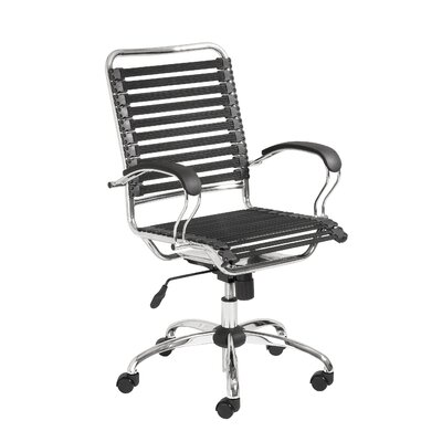 Eurostyle Bungie High-Back Office Chair with Flat J-Arm