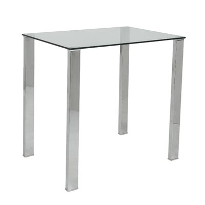 Eurostyle Beth Pub Table with Optional Stools