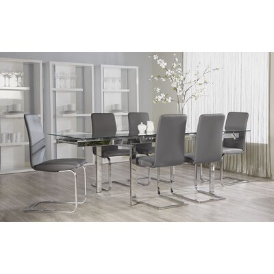 Eurostyle Danube 7 Piece Dining Set