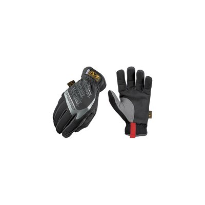 Mechanix Wear Black FastFit® Synthetic Leather And Spandex Mechanics Gloves With Reinforced Thumb, Index Finger And Fingertips