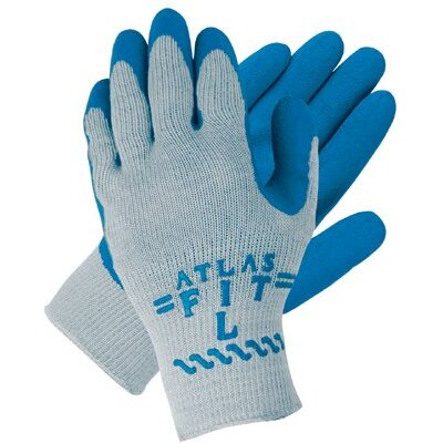Memphis Glove Atlas Fit™ Latex Coated Gloves - large atlas fit 300 string knit glove 10 gauge g