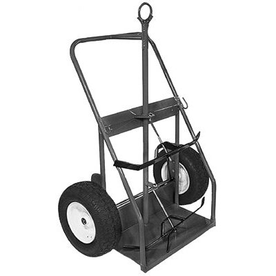 Milwaukee Hand Trucks Cylinder Trucks - cylinder truck w/continuous handle eye hook &ban