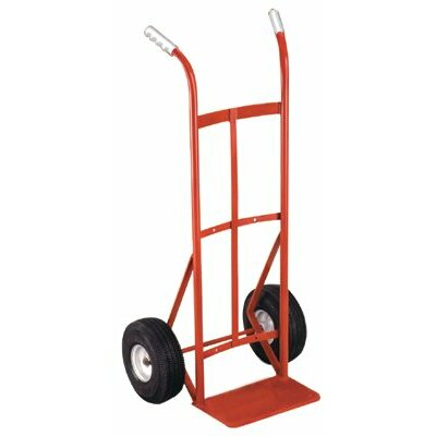"Milwaukee Hand Trucks Dual Handle Hand Trucks - dual handle handtruck w/10"" ace-tuff wheels 600#"