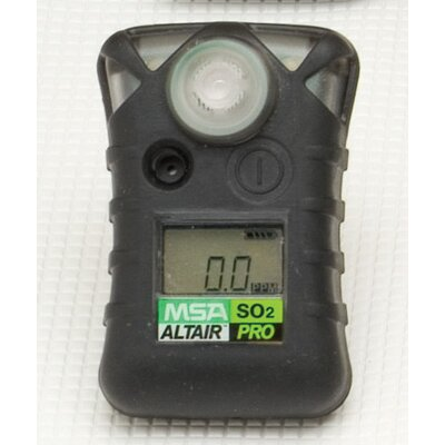 MSA Pro Single-Gas Detector For Sulfur Dioxide (SO2)
