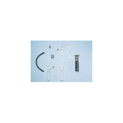 MSA Monoxide And Water Vpor Charcoal Filter Tube For Use In In-Line Sampling To Protect Pumps From Vapor Damage (10 Each Per Box)