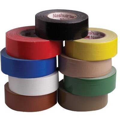 "Nashua Premium Duct Tapes - 2""x60yds. black duct tape"