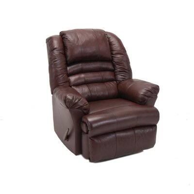 Franklin Ridgeland Leather Match Chaise Recliner