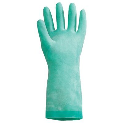 North Safety NitriGuard Unsupported Nitrile Gloves - nitri-guard nitrile gloves-green