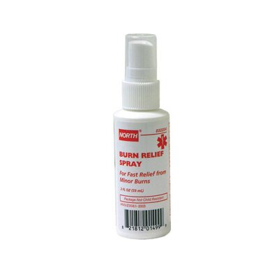 North Safety Ounce Pump Burn Relief Spray