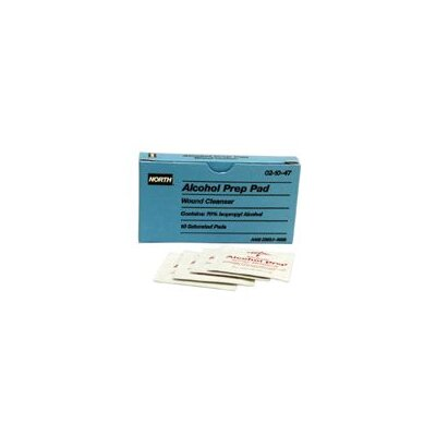 North Safety Prep Pads O/H PAK® (100 Per Box)