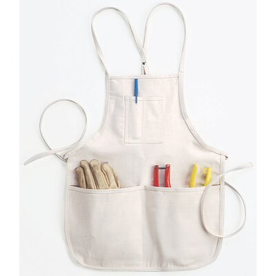 Clc 4 Pocket Loop Neck Bib Apron C11