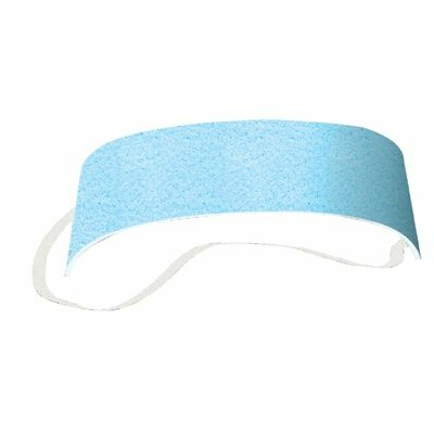 OccuNomix Disposable Sweatbands - sweatband/packed in 25s:blue
