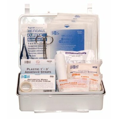 Pac-Kit 25 Person Contractor's First Aid Kits - no. 25 contractors kitweatherproof plastic