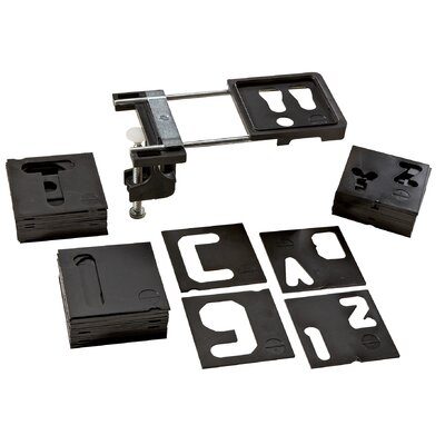 "Vermont American 1-1/2"" & 2-1/2"" Letter & Number Router Template Set 23455"