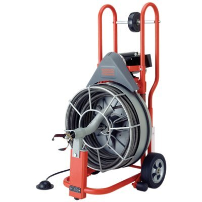 Ridgid Model K-750R Drain Cleaners - k-750 r rental 115v 5/8x