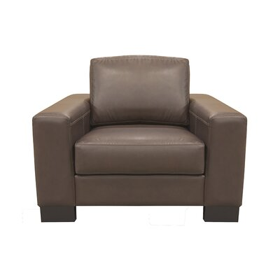 Mayfair Leather Arm Chair