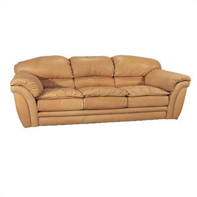 Colony II Leather Full Sleeper Sofa
