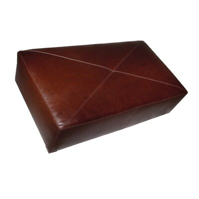Coja Finland Large Contemporary Leather Bench Ottoman