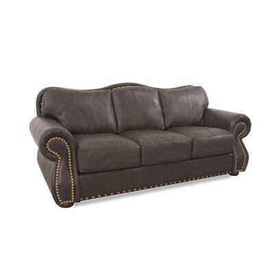Hampton Leather Sleeper Sofa Wayfair