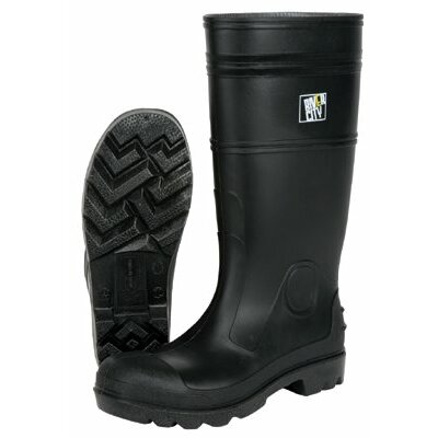 "River City Steel Toe Boots 16"" Pvc Knee Boot  Mens Steel Toe- Black: 611-Pbs12010 - 16"" pvc knee boot  mens steel toe- black"