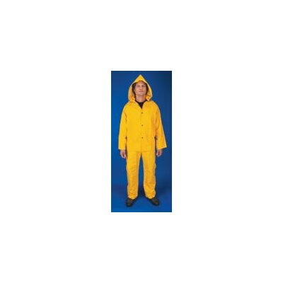 River City Yellow Classic 0.35 mm PVC And Polyester Rain Suit